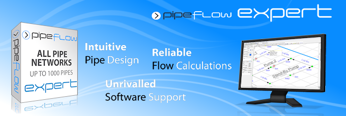 Pipe Flow Expert Software for piping system design and pipe pressure drop calculations